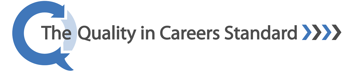 The quality in careers standard logo